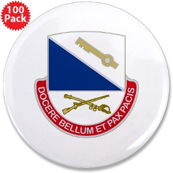 "181IB - M01 - 01 - DUI - 181st Infantry Brigade - 3.5"" Button (100 pack)"