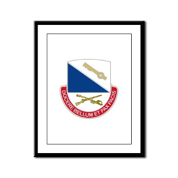 181IB - M01 - 02 - DUI - 181st Infantry Brigade - Framed Panel Print