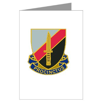188IB - M01 - 02 - DUI - 188th Infantry Brigade Greeting Cards (Pk of 20)