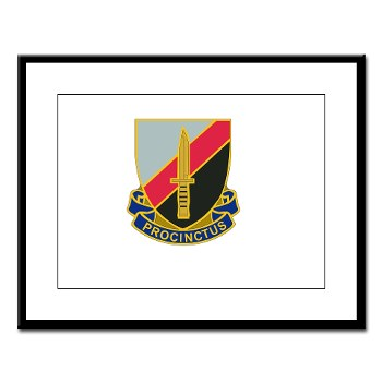 188IB - M01 - 02 - DUI - 188th Infantry Brigade Large Framed Print