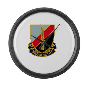188IB - M01 - 03 - DUI - 188th Infantry Brigade Large Wall Clock
