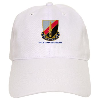 188IB - A01 - 01 - DUI - 188th Infantry Brigade with text Cap