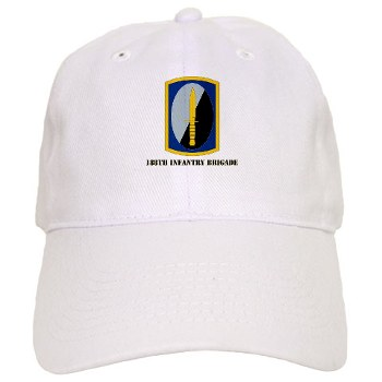 188IB - A01 - 01 - SSI - 188th Infantry Brigade with text Cap