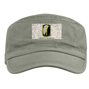 188IB - A01 - 01 - SSI - 188th Infantry Brigade with text Military Cap