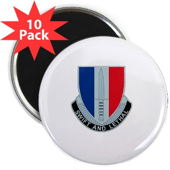 "189IB - M01 - 01 - DUI - 189th Infantry Brigade 2.25"" Magnet (10 pack)"