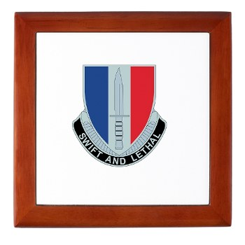 189IB - M01 - 03 - DUI - 189th Infantry Brigade Keepsake Box