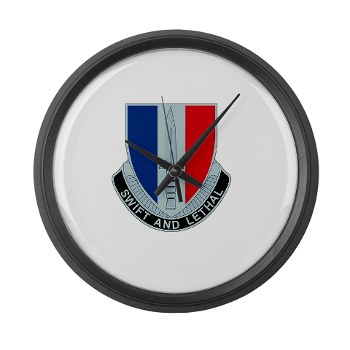 189IB - M01 - 03 - DUI - 189th Infantry Brigade Large Wall Clock