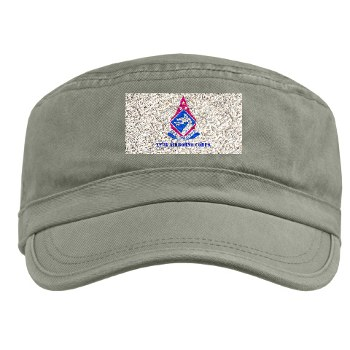 18ABC - A01 - 01 - DUI - XVIII Airborne Corps with Text Military Cap