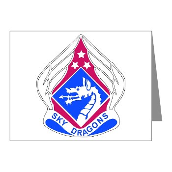 18ABC - M01 - 02 - DUI - XVIII Airborne Corps Note Cards (Pk of 20)