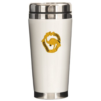 191IB - M01 - 03 - DUI - 191st Infantry Brigade - Ceramic Travel Mug