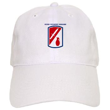 192IB - A01 - 02 - SSI - 192nd Infantry Brigade with text - Cap