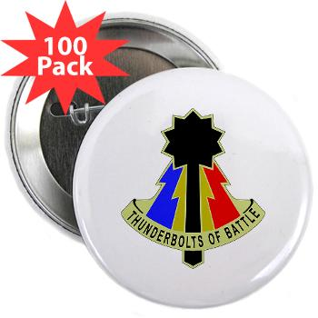 "194AB - M01 - 01 - DUI - 194th Armored Brigade - 2.25"" Button (100 pack)"
