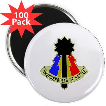 194AB - M01 - 01 - DUI - 194th Armored Brigade - 2.25 Magnet (100 pack)