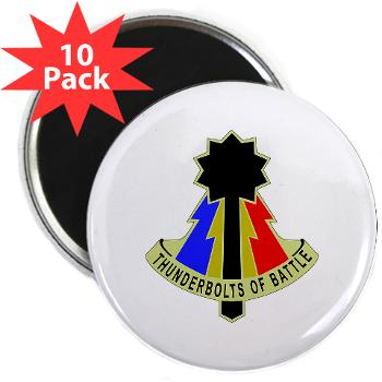 194AB - M01 - 01 - DUI - 194th Armored Brigade - 2.25 Magnet (10 pack)