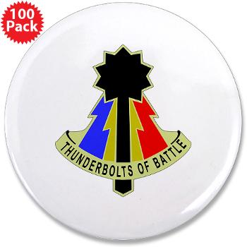 "194AB - M01 - 01 - DUI - 194th Armored Brigade - 3.5"" Button (100 pack)"