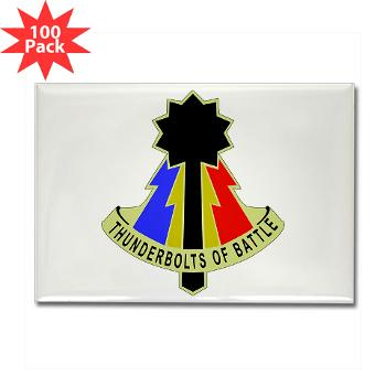 194AB - M01 - 01 - DUI - 194th Armored Brigade - Rectangle Magnet (100 pack)