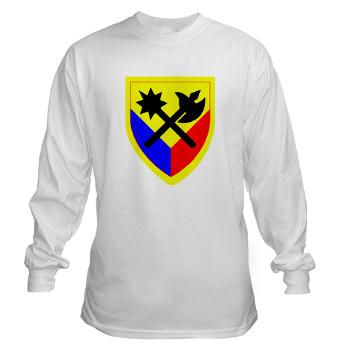 192AB - A01 - 03 - SSI - 194th Armored Brigade - Long Sleeve T-Shirt