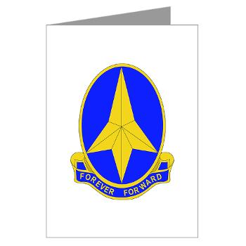 197IB - M01 - 02 - DUI - 197th Infantry Brigade - Greeting Cards (Pk of 10)