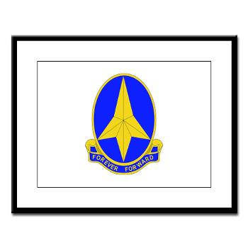 197IB - M01 - 02 - DUI - 197th Infantry Brigade - Large Framed Print
