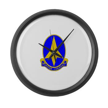 197IB - M01 - 03 - DUI - 197th Infantry Brigade - Large Wall Clock