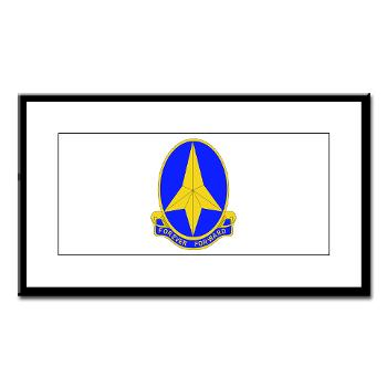 197IB - M01 - 02 - DUI - 197th Infantry Brigade - Small Framed Print