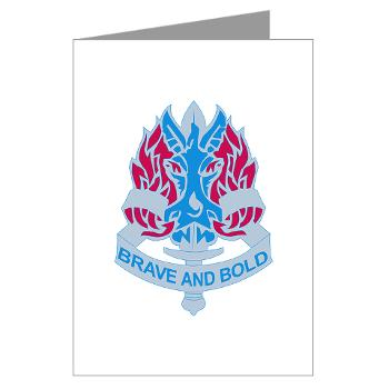 198IB - M01 - 02 - DUI - 198th Infantry Brigade - Greeting Cards (Pk of 10)
