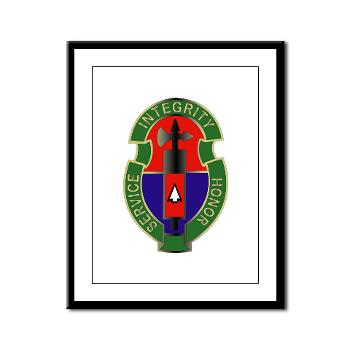 198MPB - M01 - 02 - 198th Military Police Battalion - Framed Panel Print