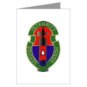 198MPB - M01 - 02 - 198th Military Police Battalion - Greeting Cards (Pk of 10)