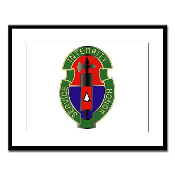198MPB - M01 - 02 - 198th Military Police Battalion - Large Framed Print