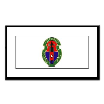 198MPB - M01 - 02 - 198th Military Police Battalion - Small Framed Print
