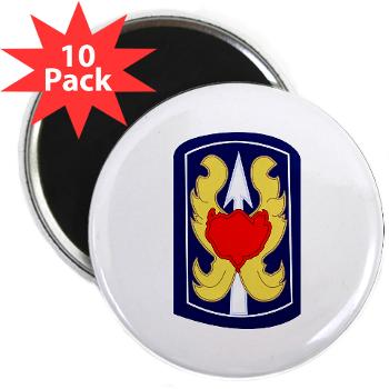 "199IB - A01 - 01 - SSI - 199th Infantry Brigade - 2.25"" Magnet (10 pack)"