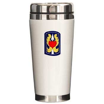 199IB - A01 - 01 - SSI - 199th Infantry Brigade - Ceramic Travel Mug