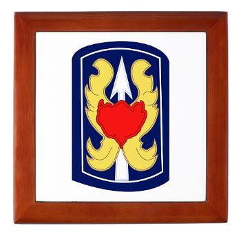 199IB - A01 - 01 - SSI - 199th Infantry Brigade - Keepsake Box