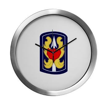 199IB - A01 - 01 - SSI - 199th Infantry Brigade - Modern Wall Clock