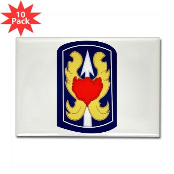 199IB - A01 - 01 - SSI - 199th Infantry Brigade - Rectangle Magnet (10 pack)