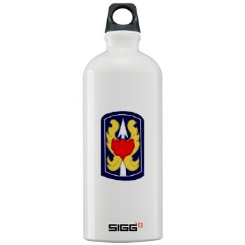 199IB - A01 - 01 - SSI - 199th Infantry Brigade - Sigg Water Bottle 1.0L