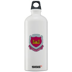 19EC - M01 - 03 - DUI - 19th Engineer Company Sigg Water Bottle 1.0L