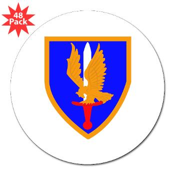 "1AB - M01 - 01 - SSI - 1st Aviation Bde - 3"" Lapel Sticker (48 pk)"
