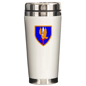 1AB - M01 - 03 - SSI - 1st Aviation Bde - Ceramic Travel Mug