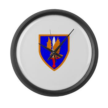 1AB - M01 - 03 - SSI - 1st Aviation Bde - Large Wall Clock