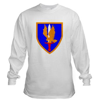 1AB - A01 - 03 - SSI - 1st Aviation Bde - Long Sleeve T-Shirt