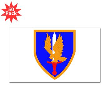 1AB - M01 - 01 - SSI - 1st Aviation Bde - Sticker (Rectangle 50 pk)