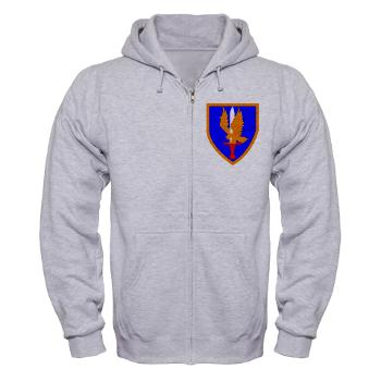 1AB - A01 - 03 - SSI - 1st Aviation Bde - Zip Hoodie
