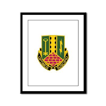 1AD2BCTSTB - A01 - 02 - DUI - 1st Bn - 35th Armor Regt - Framed Panel Print