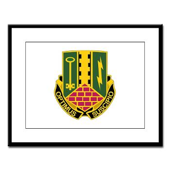 1AD2BCTSTB - A01 - 02 - DUI - 1st Bn - 35th Armor Regt - Large Framed Print