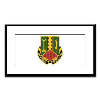 1AD2BCTSTB - A01 - 02 - DUI - 1st Bn - 35th Armor Regt - Small Framed Print