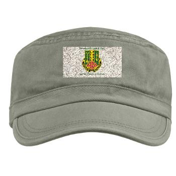 1AD2BCTSTB - A01 - 01 - DUI - 2nd BCT - Special Troops Bn with Textt - Military Cap