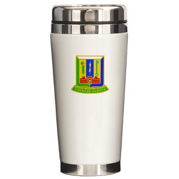 1AD3BCTSTB - M01 - 03 - DUI - 3rd BCT - Special Troops Bn - Ceramic Travel Mug