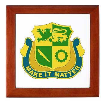 1ADDSTB - M01 - 03 - DUI - Division - Special Troops Battalion - Keepsake Box