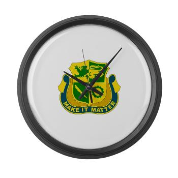 1ADDSTB - M01 - 03 - DUI - Division - Special Troops Battalion - Large Wall Clock